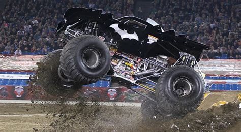 monster trucks videos batman official driver profile s home of the aaphmj original