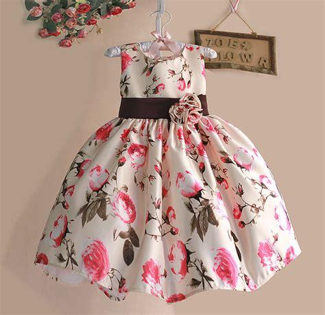 Baju Anak Perempuan Import Setelan Tutu 3in1 novo 2015 meninas ver 227 o vestido rosa floral tribute silk crian 231 as vestidos para meninas festa de