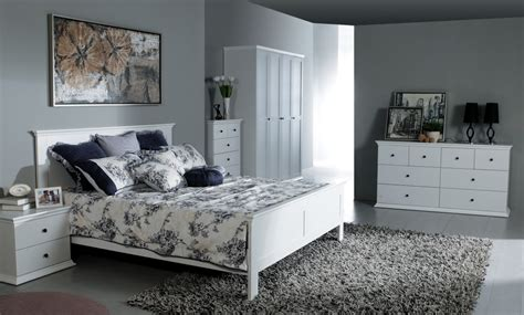 Manhattan Bedroom Furniture Collection Manhattan White Furniture Large Chest Of Drawers Bedside Tables Wardrobe Ebay