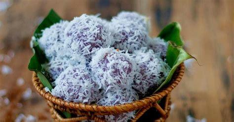 cara membuat warna ungu alami cara membuat klepon ubi ungu
