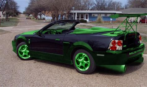 mustang ricer searched up quot hellaflush mustang quot into expecting to