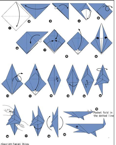Sea Creatures Origami -