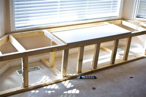 diy window bench with storage window seat storage home improvement pinterest