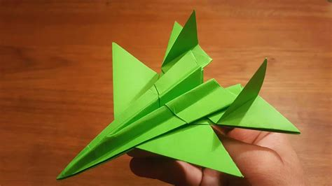 Origami F 14 - how to make a paper f 14 tomcat fighter jet origami
