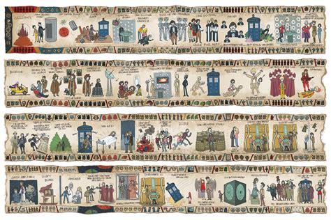 Tapisserie De Bayeux Histoire by L Histoire De Doctor Who En Tapisserie De Bayeux