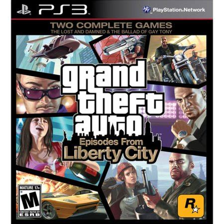 grand theft auto: episodes from liberty city, rockstar