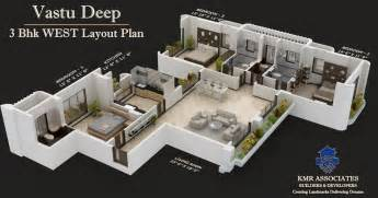 3bhk House Design Plans 3 Bhk House Plans Images