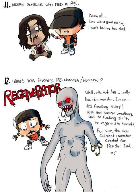 Resident Evil Memes - resident evil meme 6 by bleyerart on deviantart