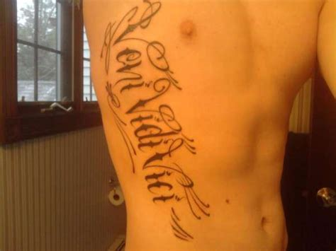 veni vidi vici tattoo designs 41 veni vidi vici designs with meaning white ink