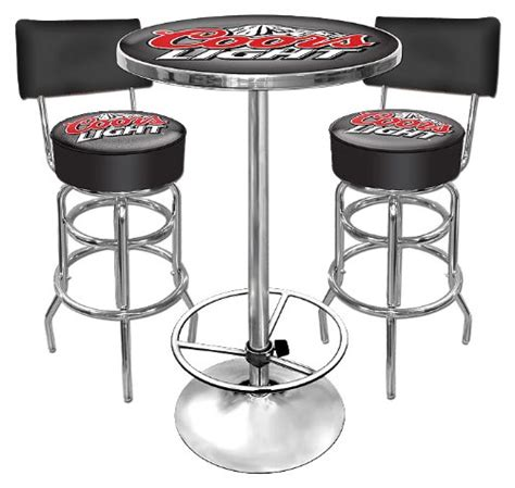 trademark ultimate coors light gameroom combo 2 stools
