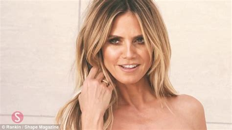 Heidi From The Spreads It For Stuff Magazine And Boy Is Spencer Pleased by Heidi Klum Flaunts Figure For Shape Cover And Reveals She