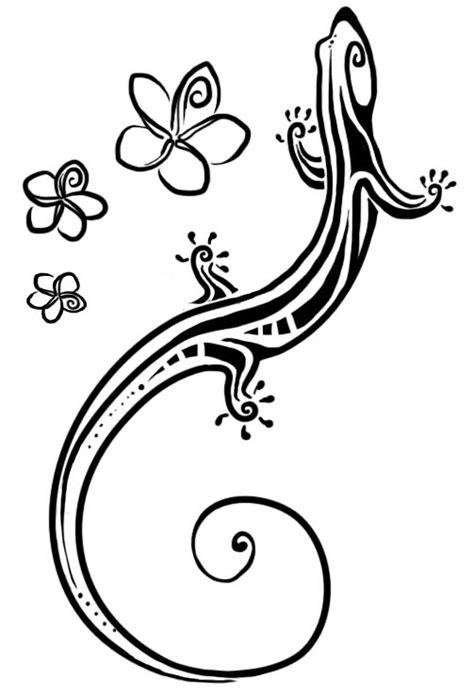 tribal gecko tattoo meaning 22 wonderful lizard designs