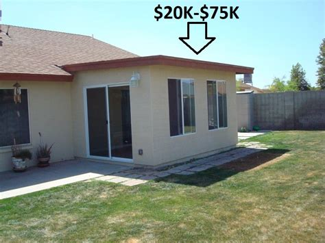 room addition cost  los angeles