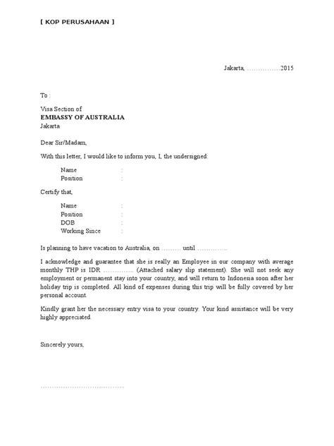 Contoh Surat Keterangan Kerja Pengajuan Visa Girls Games