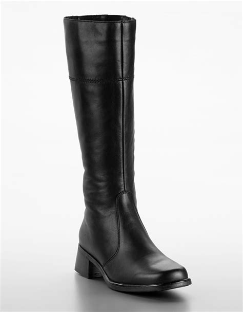canadienne boots la canadienne laren leather boots in black black leather