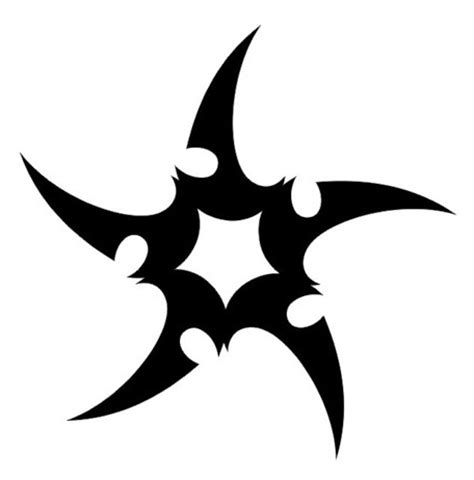 ninja star tattoo designs 16 stuning tribal tattoos only tribal