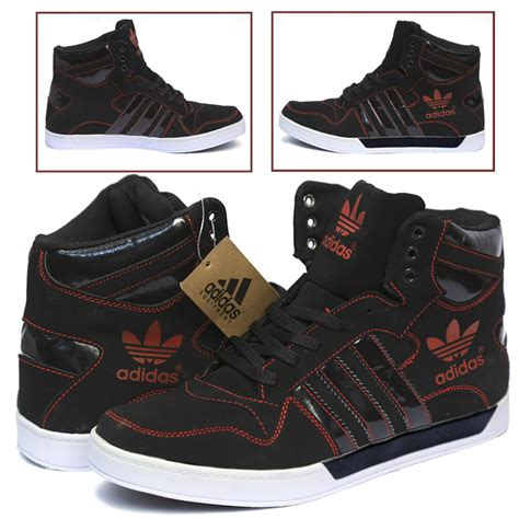 comfortable adidas shoes adidas casual comfortable black and red colored shoes
