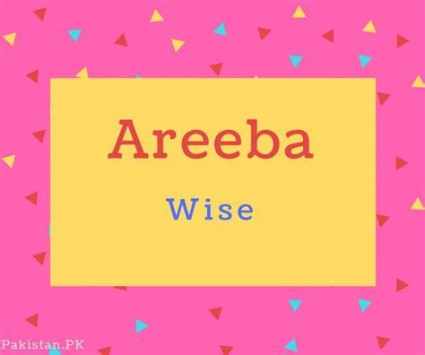 What is Areeba Name Meaning In Urdu   Areeba Meaning is