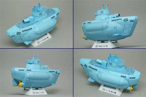 Papercraft Submarine - sd u boat papercraft papercraft paradise papercrafts