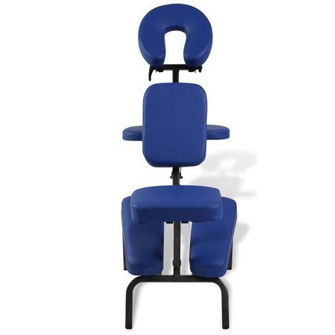 sedie da massaggio sedia massaggio pieghevole e portatile vidaxl it