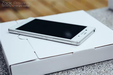 Box Z3 White Xperia Z3 Unboxing On Photos