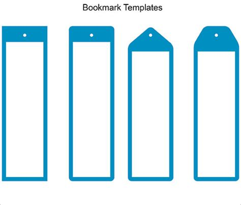 bookmark template 10 free word pdf psd documents