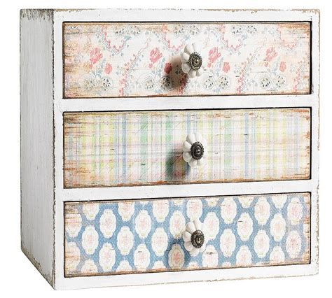 Floral Chest Of Drawers floral chest of drawers by bell blue