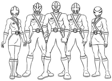 power ranger pictures az coloring pages