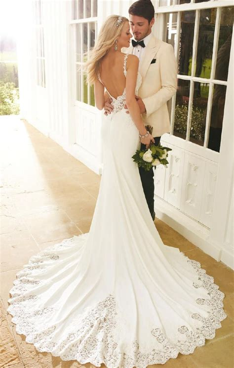 Backless Wedding Dresses by Best 25 Backless Wedding Dresses Ideas On