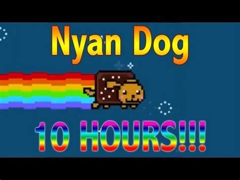 all about puppies hours nyan 10 hours nyan cat