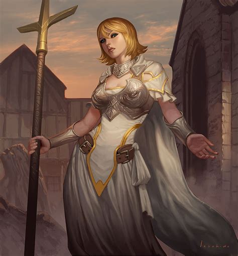 chantry sister northern cross priestess by lasahido on deviantart