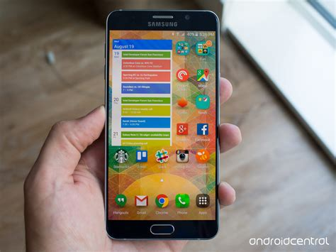 Samsung Note 5 Speaker Sensor 1 Samsung Galaxy Note 5 Review Android Central