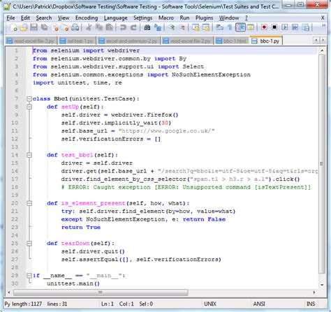 python email template learning selenium selenium ide pat walsh it services