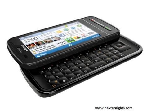 Hp Nokia C6 Slide nokia c6 review and specifications dexternights