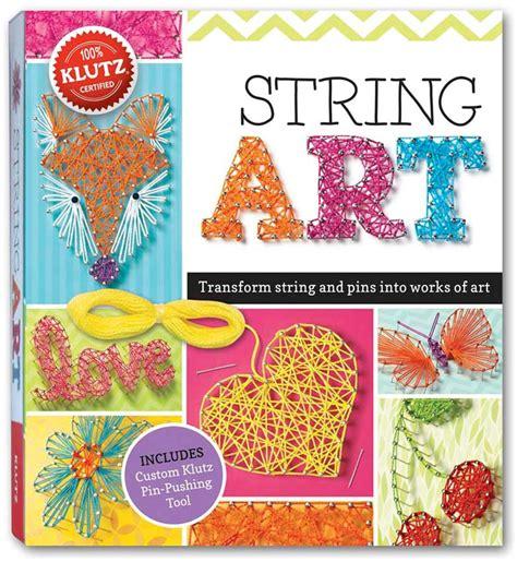 String Pattern Books - klutz string