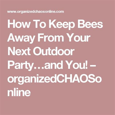 1000 ideas about keep bees away on pinterest how to