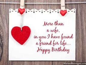 birthday wishes for wife quotes and messages