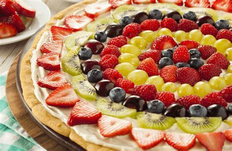 fruit pizza fruit pizza recipe sparkrecipes