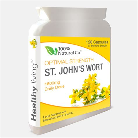St Johns Wort Detox st johns wort 100 health
