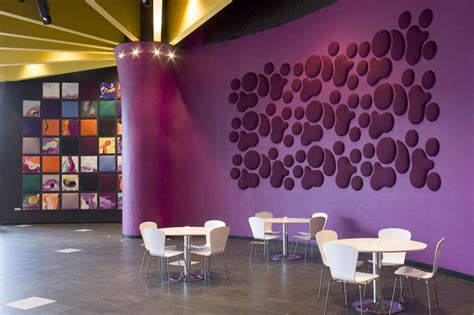 design wall cafe decorative sound absorbing wall panels from wobedo design