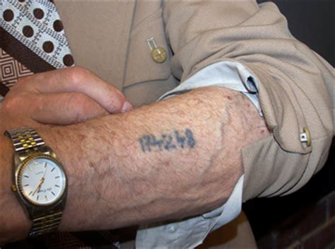 tattoo numbers holocaust auschwitz tattoo hoax