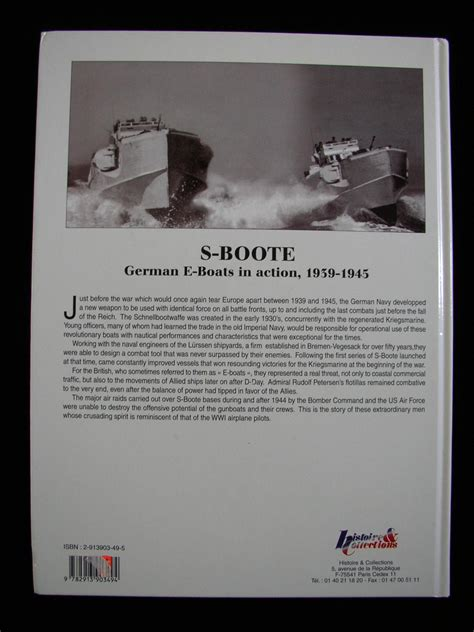boten german s boote german e boats in action 1939 1945 by dallies