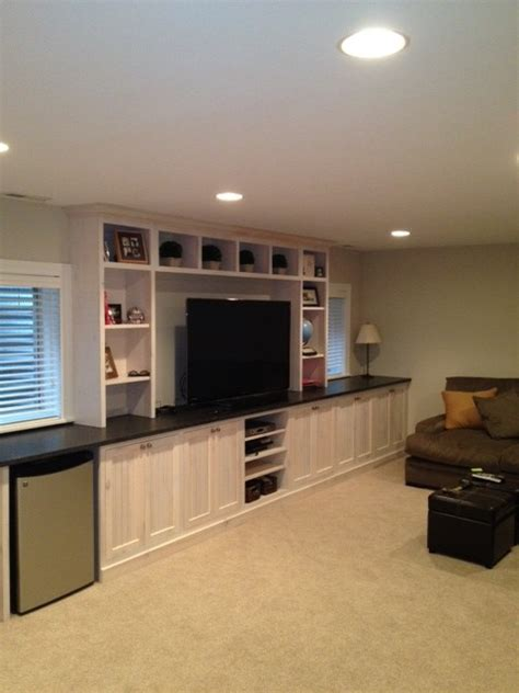 basement entertainment ideas basement entertainment center traditional basement