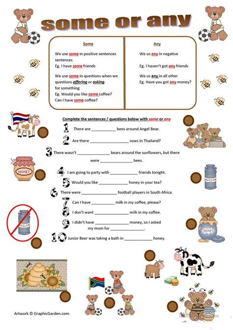 esl some and any worksheets some or any worksheet free esl printable worksheets made by teachers