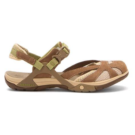 merrell shoes womens sandals merrell women s azura wrap sandals in otter sneaker cabinet