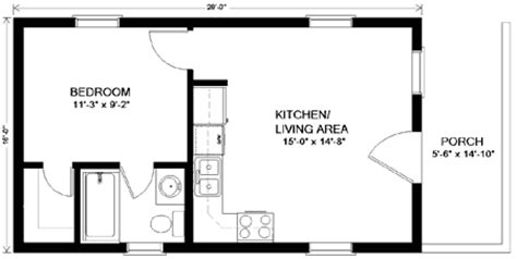 one story house plans with in quarters home