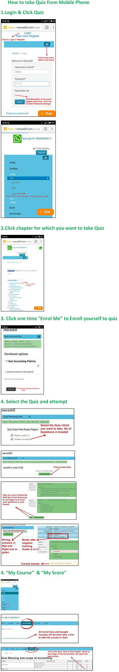 Mba Programs With Cpt by Free Ca Cpt Quiz From Mobile Http Www Meraskill Cpt