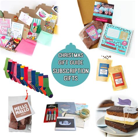 say it says christmas gift guide subscription gifts