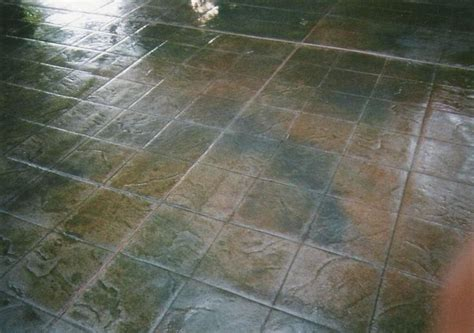 21 best images about Concrete stamped flooring on
