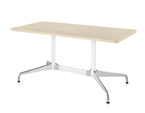 Herman Miller Eames® Table   Rectangular Top and Segmented